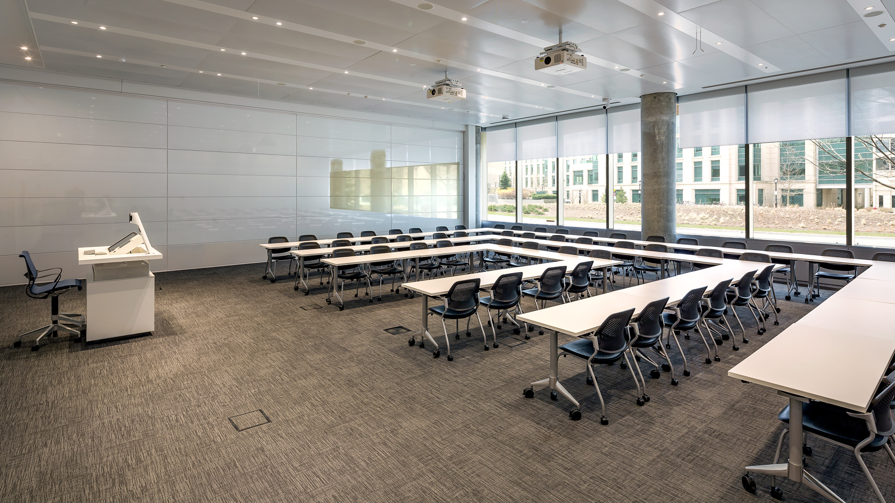 Room 1420 and 1430 Design Wing and Conference Center